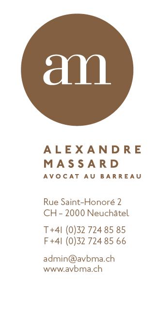 Alexandre Massard - Avocat au Barreau